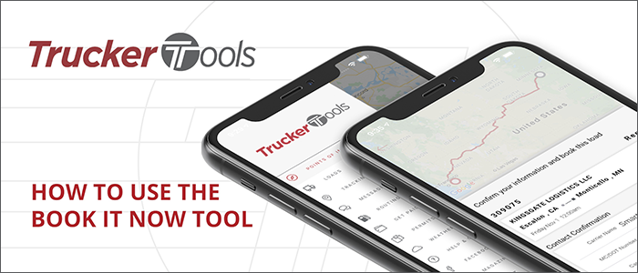 How to use the Trucker Tools Book-It-Now tool