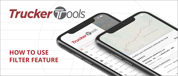 How to Filter Features in the new Trucker Tools driver app