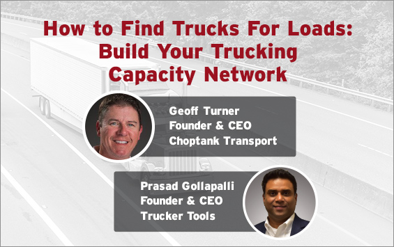 How to Find Trucks For Loads: Build Your Trucking Capacity Network