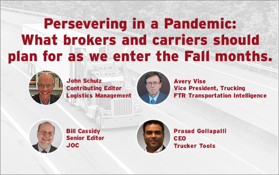 Persevering in a Pandemic: what brokers and carriers should plan for as we enter the fall months