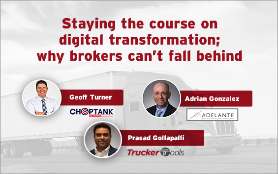 Staying the course on digital transformation; why brokers can't fall behind