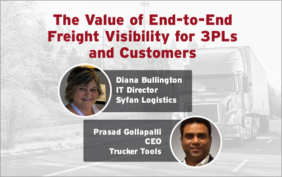 The Value of End-to-End Freight Visibility for 3PLs and Customers