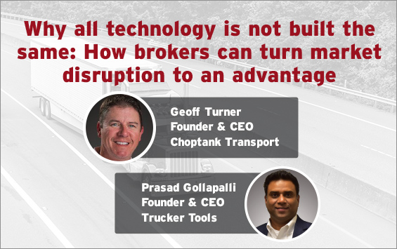Why all technology is not built the same: How brokers can turn market disruption to an advantage.