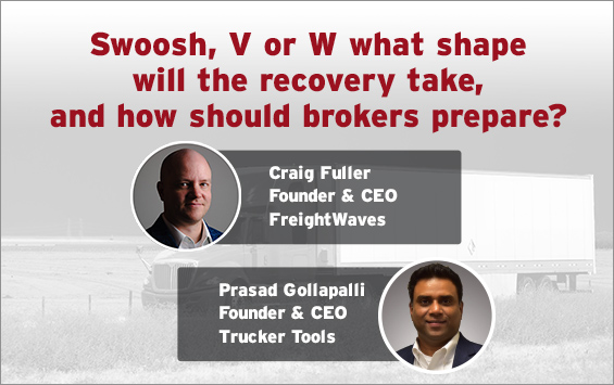 """Swoosh, V or W"""" what shape will the recovery take, and how should brokers prepare?"""