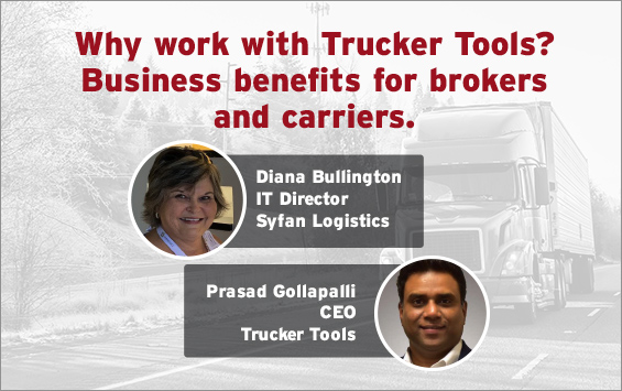 Why work with Trucker Tools? Business benefits for brokers and carriers
