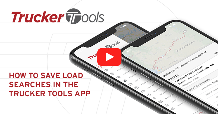 How to Save Searches in the Trucker Tools Driver App