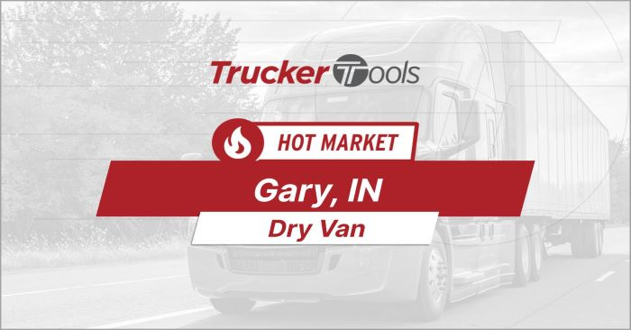 Gary, Grand Junction and Rapid City Some of the Hottest Markets for Truckers in the Next Week