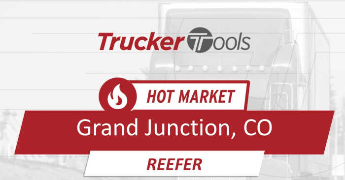 Jacksonville, San Francisco, Wilmington and Grand Junction Hot Markets for Truckers in the Next Five to Seven Days