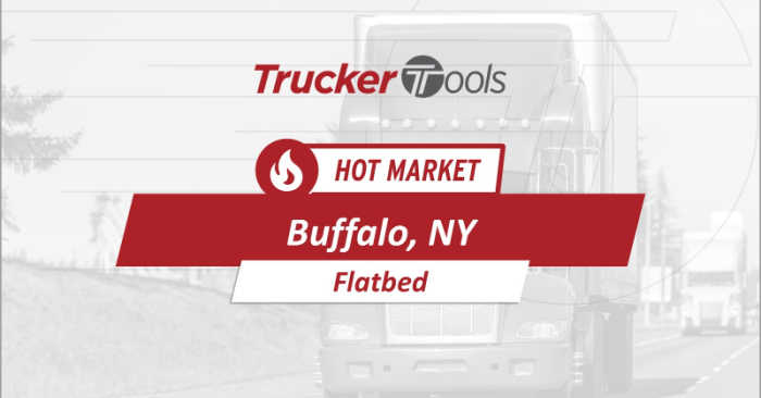 Hot Markets for Truckers and Carriers: Duluth, Chicago, Buffalo and Cheyenne