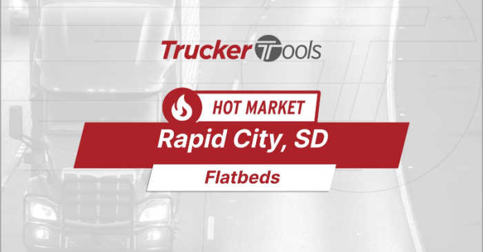 Where's the Freight? Rapid City, Texarkana, Lubbock, Fayetteville and Central Ontario