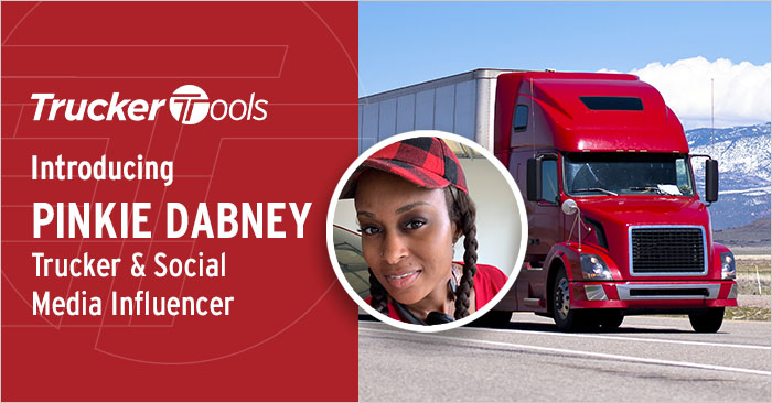 Celebrating Diversity: Pinkie Dabney, Trucker and Social Media Influencer