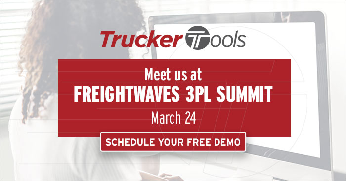Join Trucker Tools at the FreightWaves 3PL Summit on March 24