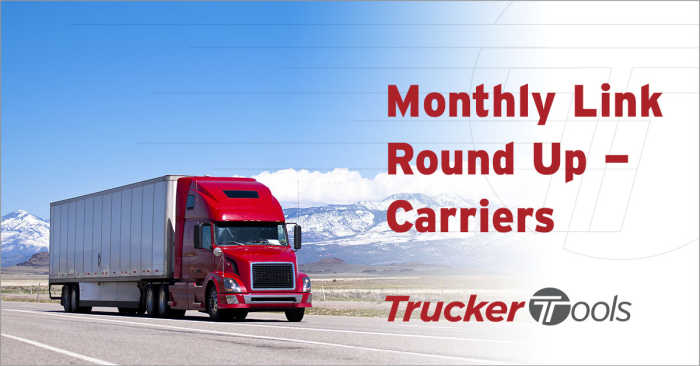 Top Blogs for Truckers/Carriers: February 2021 Highlights