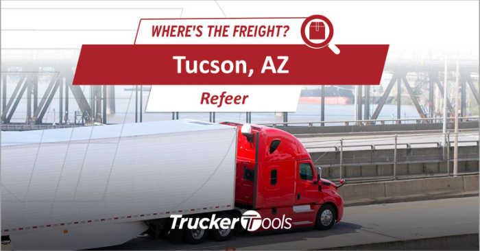 Where's the Freight? Texarkana, St. Louis, Tucson, Southwestern Ontario and Medford Projected To Be Hottest Markets for Truckers in Coming Week