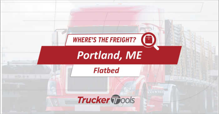 Where's the Freight? Expect High Demand for Trucks for Southwest Ontario, Portland, Rapid City and Tucson This Week