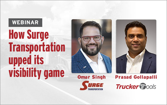 How Surge Transportation Upped Its Visibility Game—and Set Record KPIs for Shippers