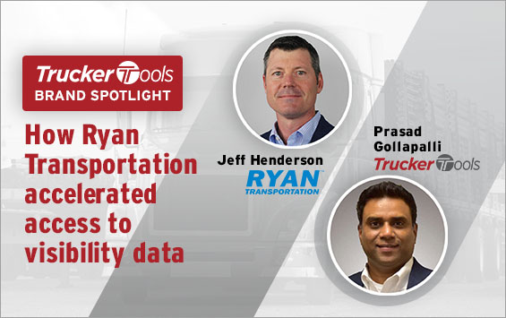 How Ryan Transportation accelerated access to visibility data