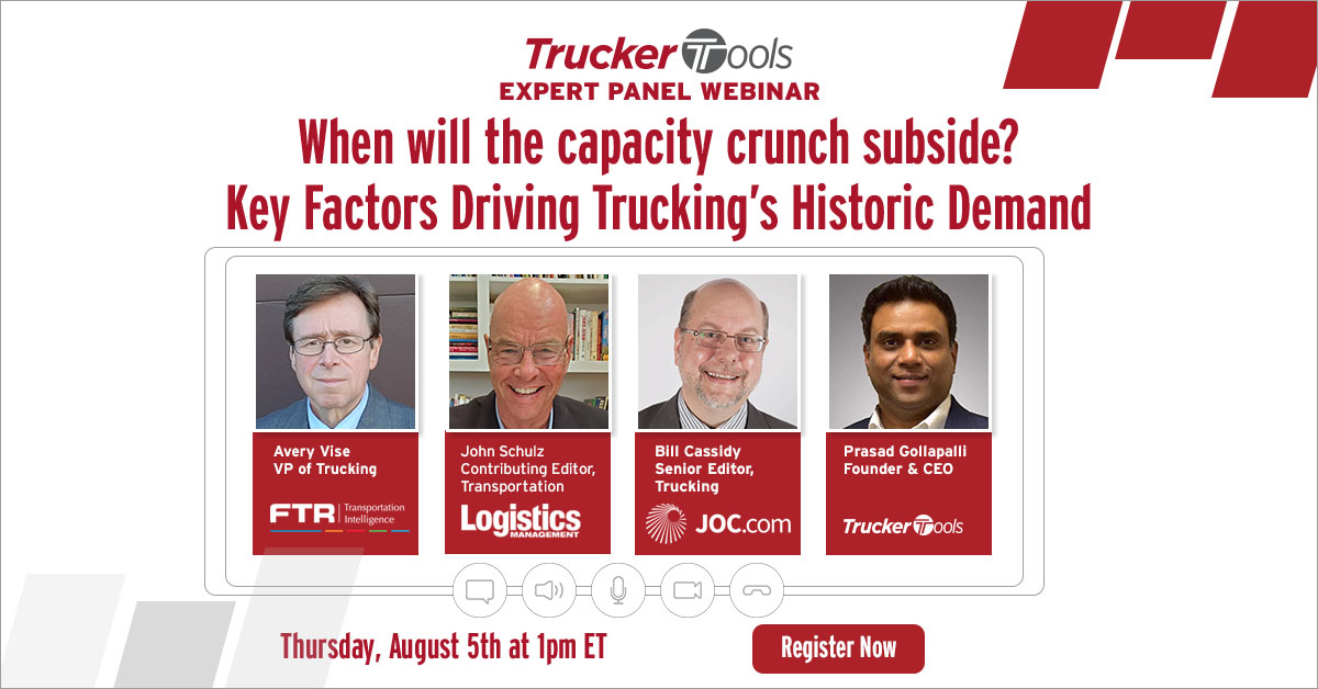 When will the capacity crunch subside? Key Factors Driving Trucking's Historic Demand