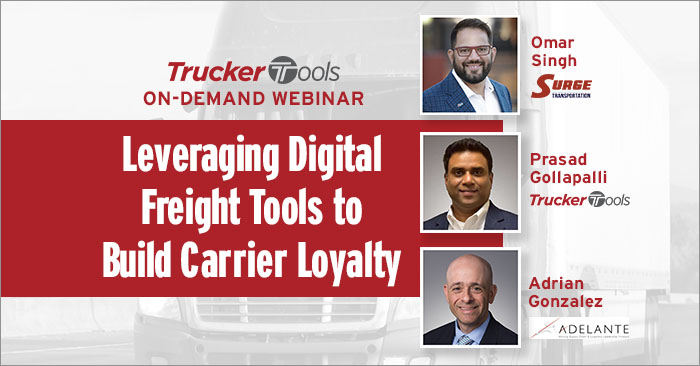 Leveraging Digital Freight Tools to Build Carrier Loyalty
