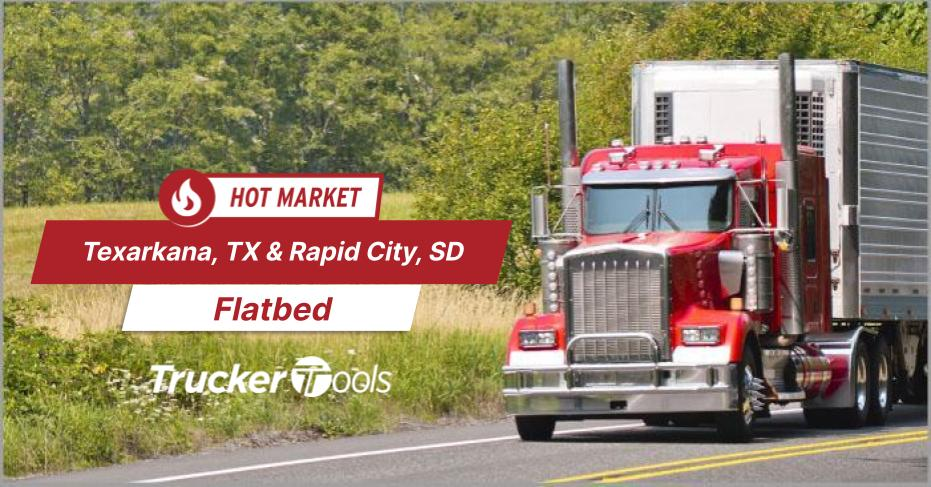 Where's the Freight? Edmonton, Dodge City, Texarkana, New Castle and Rapid City Top Markets for Truckers in Coming Week