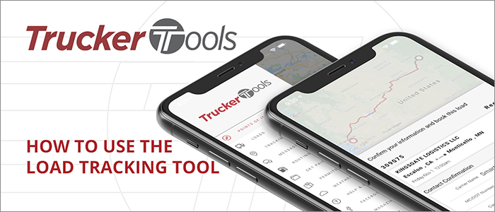How to use the Load Tracking feature in Trucker Tools' driver app