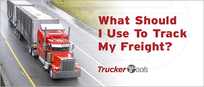 What Should I Use To Track My Freight?