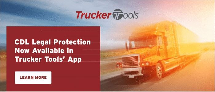 New CDL Legal Protection Feature Now Available in Trucker Tools' Driver App