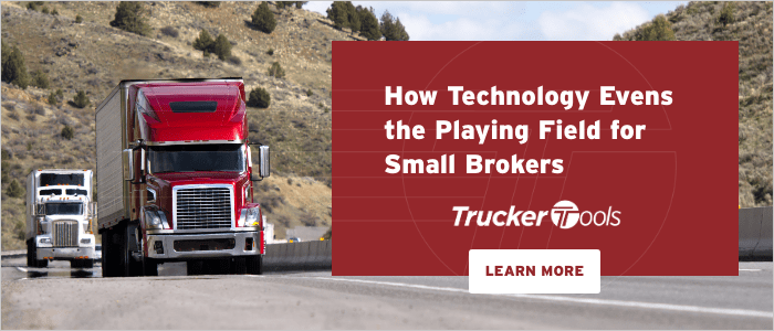 How Technology Evens the Playing Field for Small Brokers