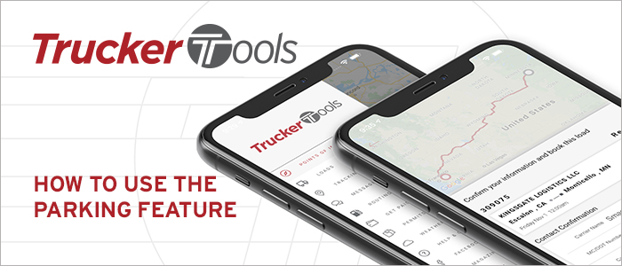 How to Find and Book Parking in Trucker Tools' App