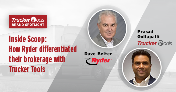 How Ryder Is Leveraging the Trucker Tools Driver App To Reduce App Fatigue, Improve Loyalty and Deepen Capacity Choices