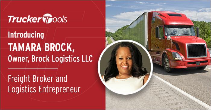 Celebrating Diversity: Tamara Brock, Freight Broker and Logistics Entrepreneur