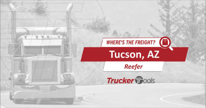 Where's the Freight? High Demand Projected for Southwestern Ontario, Tucson, Flagstaff, Lexington and El Paso This Week