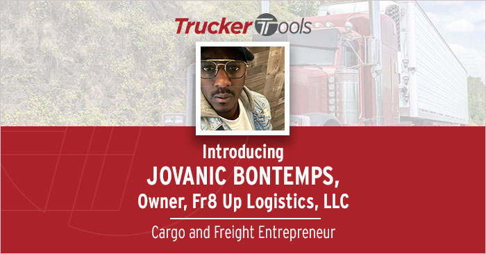 Celebrating Diversity: Jovanic Bontemps, Owner of Trucking Company FR8UP Logistics