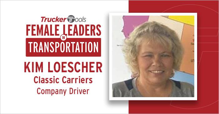 Female Leaders in Transportation: Trucker Kim Loescher