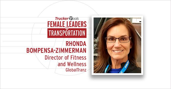 Female Leaders in Transportation: Rhonda Bompensa-Zimmerman, Director of Fitness and Wellness at GlobalTranz