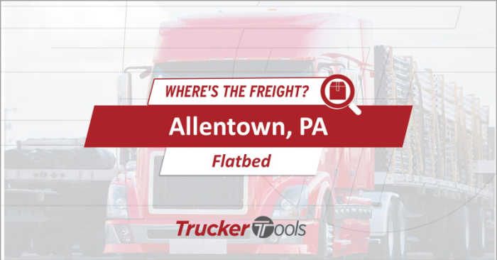 Where's the Freight? Allentown, Flagstaff, Chicago, Jonesboro and Jacksonville Expected To Be Top Markets for Truckers and Carriers This Week