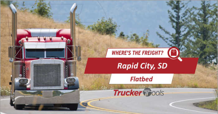 Where's the Freight? Expect High Demand for Trucks in Coming Week for Grand Junction, Rapid City, Tucson, Texarkana and Southwestern Ontario