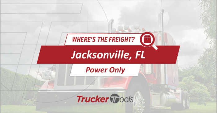 Where's the Freight? Texarkana, Tucson, Jacksonville, St. Louis and Southwestern Ontario Top Markets for Truckers/Carriers This Week