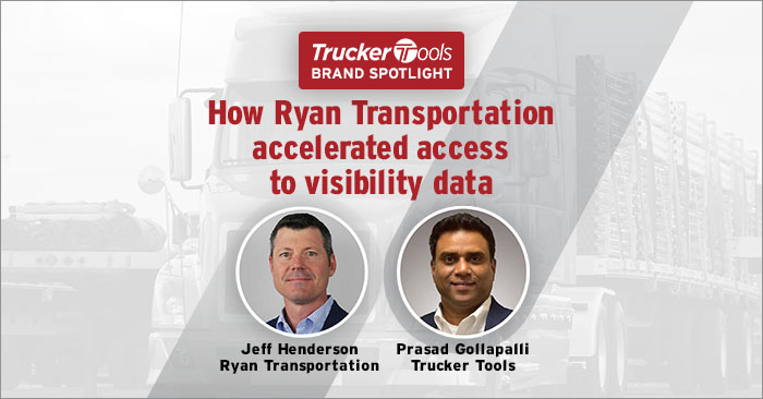 Ryan Transportation Uses Integrated Freight Tracking To Meet Shipper Visibility Requirements, Enhance Carrier Relationships and Make Better Business Decisions