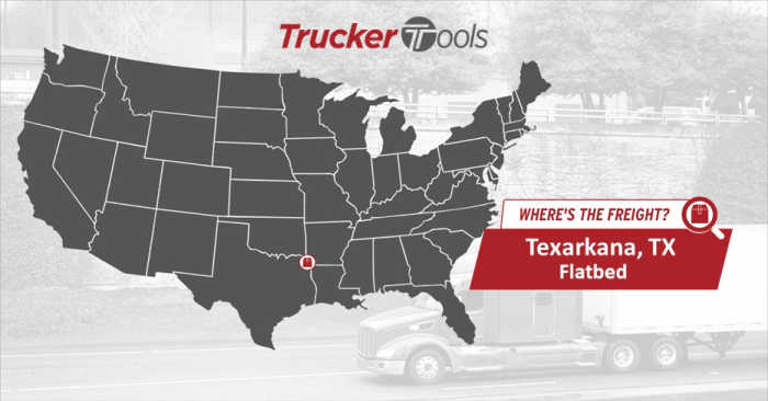 Where's the Freight? Tucson, Fort Wayne, Tucson, Texarkana, Corpus Christi and Dodge City Most Profitable Markets for Truckers This Week