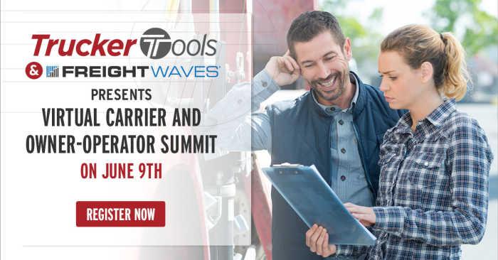 Trucker Tools, FreightWaves To Co-Host Small Fleet & Owner Operator Summit on June 9
