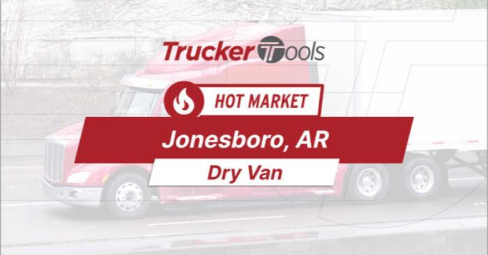 Where's the Freight? High Demand for Trucks This Week To/From Erie, Wichita, Spokane, Shreveport and Jonesboro