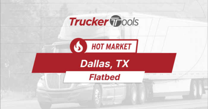 Where's the Freight? Miami, Wichita, Houston, New Brunswick and Dallas Projected To Be Highest-Demand Markets This Week