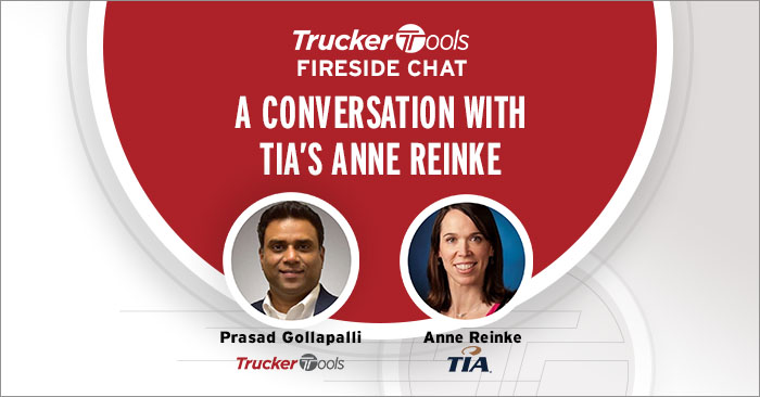 Trucker Tools' Fireside Chat with TIA's President & CEO Anne Reinke