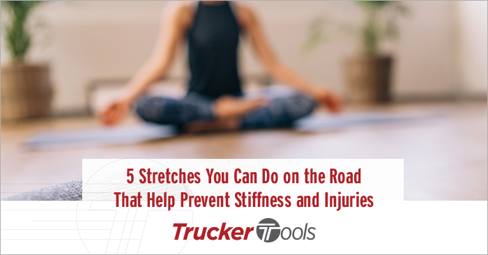 Five Stretches You Can Do on the Road That Help Prevent Stiffness and Injuries