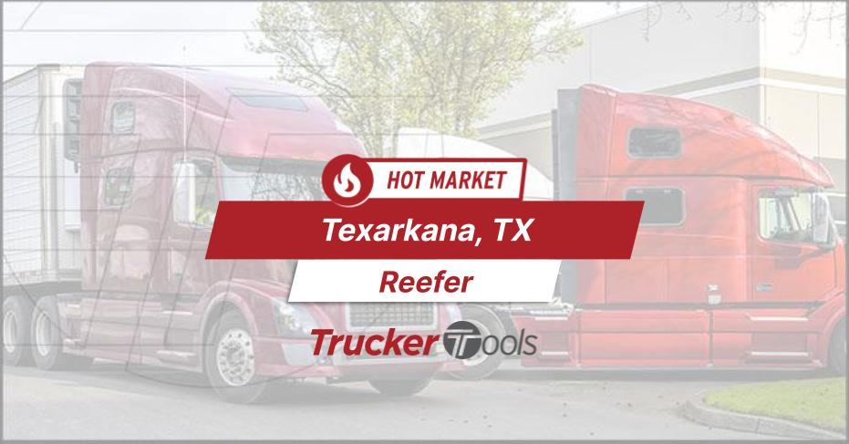 Where's the Freight? Texarkana, Edmonton Lexington and Tucson Top Markets for Truckers This Week