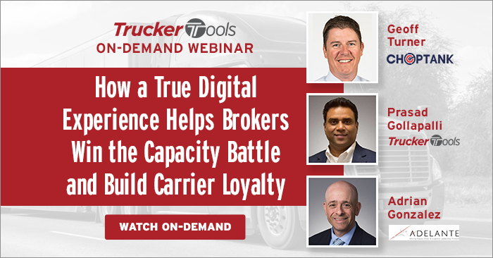 How a True Digital Experience Helps Brokers Win the Capacity Battle and Build Carrier Loyalty