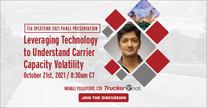 Be Sure To Join Trucker Tools at TIA's 3PLXTEND Xperience Oct. 20-22, 2021