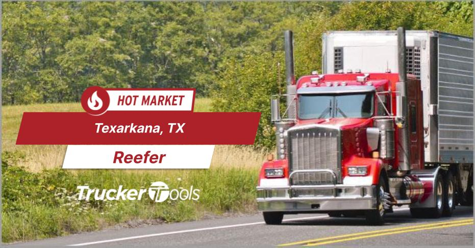 Where's the Freight? Texarkana, Southwestern Ontario, Gary and Dodge City Top Markets for Truckers and Carriers This Week